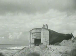Demolition of the defences along the coast