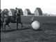 Pushball on horse